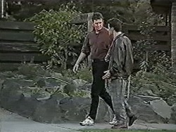 Des Clarke, Paul Robinson in Neighbours Episode 1057