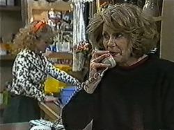 Sharon Davies, Madge Bishop in Neighbours Episode 1057