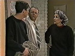 Joe Mangel, Harold Bishop, Madge Bishop in Neighbours Episode 1057