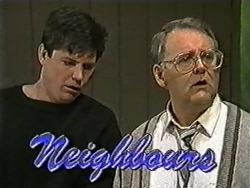 Joe Mangel, Harold Bishop in Neighbours Episode 1057