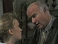 Bronwyn Davies, Gordon Davies in Neighbours Episode 1058