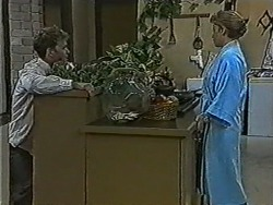 Henry Ramsay, Bronwyn Davies in Neighbours Episode 1058
