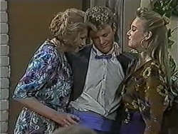 Madge Bishop, Henry Ramsay, Bronwyn Davies in Neighbours Episode 1058