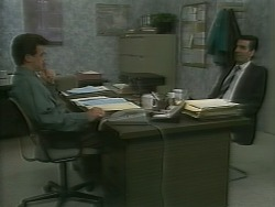 Paul Robinson, Peter Llewelyn in Neighbours Episode 1059
