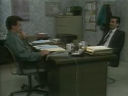 Paul Robinson, Peter Llewelyn in Neighbours Episode 1059