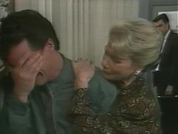 Paul Robinson, Helen Daniels, Peter Llewelyn in Neighbours Episode 1059
