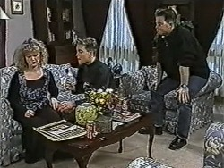 Sharon Davies, Nick Page, Matt Robinson in Neighbours Episode 1060