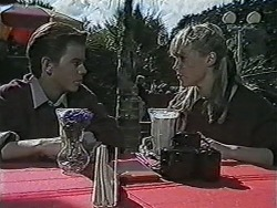 Todd Landers, Melissa Jarrett in Neighbours Episode 1061