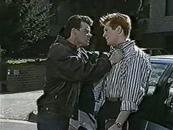 Paul Robinson, Clive Gibbons in Neighbours Episode 1062