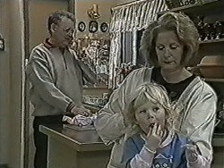 Harold Bishop, Sky Bishop, Madge Bishop in Neighbours Episode 1063