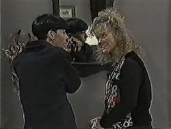 Hilary Robinson, Sharon Davies in Neighbours Episode 1063