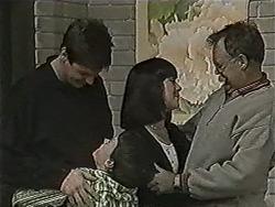 Joe Mangel, Kerry Bishop, Harold Bishop in Neighbours Episode 1063