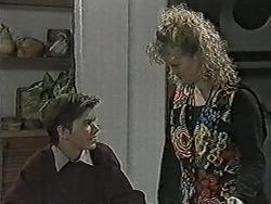 Todd Landers, Sharon Davies in Neighbours Episode 1063