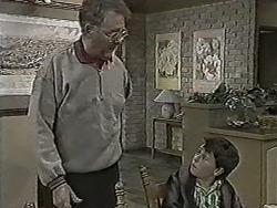 Harold Bishop, Toby Mangel in Neighbours Episode 1063