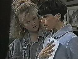 Sharon Davies, Hilary Robinson in Neighbours Episode 1063