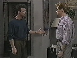 Paul Robinson, Clive Gibbons in Neighbours Episode 1063