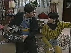 Joe Mangel, Kerry Bishop in Neighbours Episode 1063