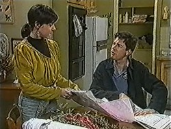 Kerry Bishop, Joe Mangel in Neighbours Episode 1064