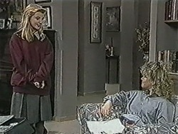 Melissa Jarrett, Sharon Davies in Neighbours Episode 1064