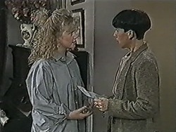 Sharon Davies, Hilary Robinson in Neighbours Episode 1064