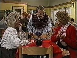 Helen Daniels, Harold Bishop, Madge Bishop in Neighbours Episode 1066