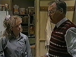 Sharon Davies, Harold Bishop in Neighbours Episode 1066