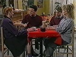 Melanie Pearson, Matt Robinson, Nick Page, Sharon Davies in Neighbours Episode 1066