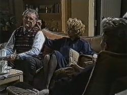 Harold Bishop, Madge Bishop, Reverend Richards in Neighbours Episode 1067