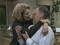 Madge Bishop, Harold Bishop in Neighbours Episode 1067
