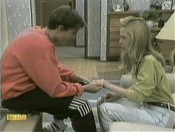 Todd Landers, Melissa Jarrett in Neighbours Episode 1068