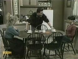Sharon Davies, Matt Robinson, Hilary Robinson in Neighbours Episode 1068