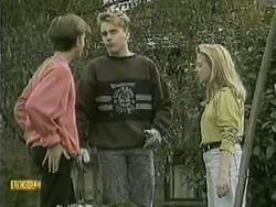 Todd Landers, Nick Page, Melissa Jarrett in Neighbours Episode 1068