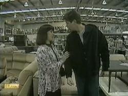 Kerry Bishop, Joe Mangel in Neighbours Episode 1068