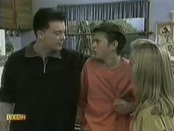 Matt Robinson, Todd Landers, Melissa Jarrett in Neighbours Episode 1068