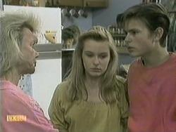 Helen Daniels, Melissa Jarrett, Todd Landers in Neighbours Episode 1068