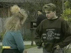 Sharon Davies, Matt Robinson, Nick Page in Neighbours Episode 1068