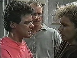 Paul Robinson, Jim Robinson, Beverly Marshall in Neighbours Episode 1070