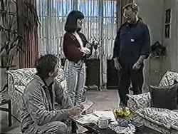 Joe Mangel, Kerry Bishop, Harold Bishop in Neighbours Episode 1070