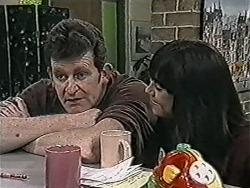 Des Clarke, Kerry Bishop in Neighbours Episode 1070