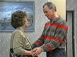 Gloria Lewis, Jim Robinson in Neighbours Episode 1070