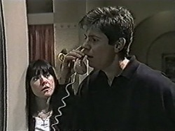 Kerry Bishop, Joe Mangel in Neighbours Episode 1070