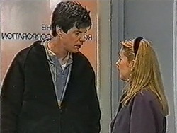 Joe Mangel, Melanie Pearson in Neighbours Episode 1071