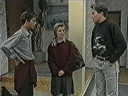 Todd Landers, Melissa Jarrett, Nick Page in Neighbours Episode 1072