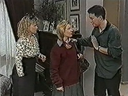 Sharon Davies, Melissa Jarrett, Matt Robinson in Neighbours Episode 1072
