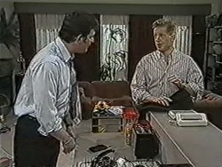 Des Clarke, Clive Gibbons in Neighbours Episode 1072