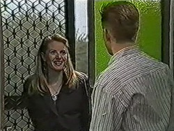 Melanie Pearson, Clive Gibbons in Neighbours Episode 1072