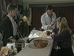 Clive Gibbons, Des Clarke, Melanie Pearson in Neighbours Episode 1072
