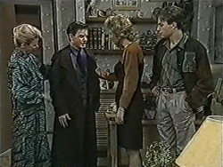 Helen Daniels, Todd Landers, Beverly Marshall, Nick Page in Neighbours Episode 1072