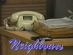 in Neighbours Episode 1072