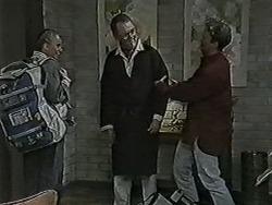 Bronwyn Davies, Harold Bishop, Henry Ramsay in Neighbours Episode 1073